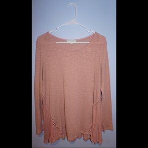 Anthropologie knit light long sleeve
